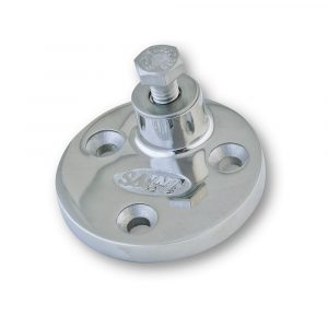 Side Mount Round Large S.S.