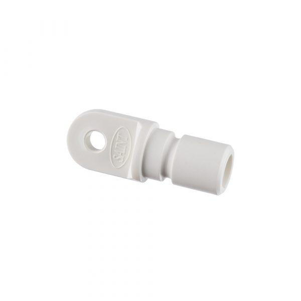 Bow End 20mm Nylon White