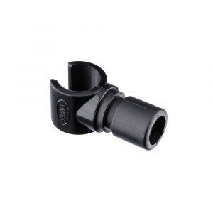 Bow Stay Clip 22x1.6mm Nylon Black