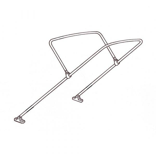 2 Bow Kit 25mm Aluminium - Small